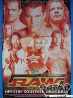 WWE RAW&SMACKDOWN OFFICIAL SOUVENIR PROGRAM