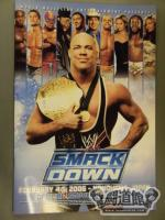 WWE SMACKDOWN OFFICIAL SOUVENIR PROGRAM