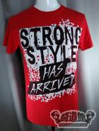 中邑真輔「STRONG STYLE HAS ARRIVED」Tシャツ