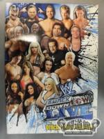WWE SMACKDOWN&ECW LIVE OFFICIAL TOUR PROGRAM 2009