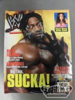 October issue of WWE MAGAZINE, 2002