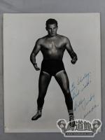 Billy Parks Autographed Black and White Portrait (1)