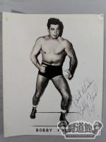 Bobby Ford Autographed Black and White Portrait (1)