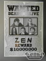 ZEN WANTED DEAD OR ALIVE