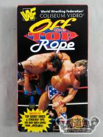 WWF Off the TOP ROPE VHS52101-3
