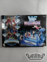 WWF【WRESTLEMANIA】ACTION RING AND FIGURES