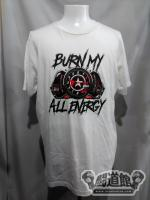 棚橋弘至「BURN MY ALL ENERGY」Tシャツ