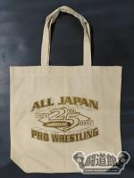 【ALL JAPAN PRO WRESTLING】25th ANNIVERSARY トートバッグ