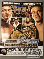 WWE SUPERSHOW OFFICIAL SOUVENIR PROGRAM 2005