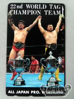 川田利明&田上明 22nd WORLD TAG CHANPION TEAM