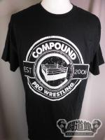 COMPOUND PRO WRESTLING Tシャツ(黒)