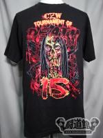 CZW「TOURNAMENT OF DEATH 15」Tシャツ