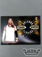 18 TOPPS【NXT TAKEOVER ORLANDO 2017】リングマットカード(カシアス・オーノ)