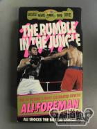 THE RUMBLE IN THE JUNGLE MUHAMMAD ALIvsGEORGE FOREMAN