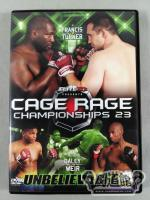 CAGE RAGE 23 UNBELIEVABLE