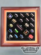WWE 20 YEARS OF WRESTLEMANIA COMMEMORATIVE FRAMED SET