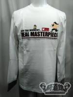 「FOR THE MOMENT... REAL MASTERPIECE」ロングTシャツ