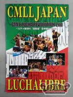 【9名直筆サイン入り】CMLL JAPAN CMLL LUCHA REVOLUTION 2nd