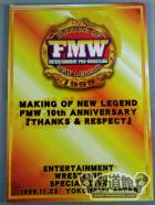 MAKING OF NEW LEGEND FMW 10th anniversary 「Thanks & Respect」