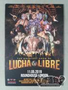 THE GREATEST SHOW OF LUCHA LIBRE ポストカード