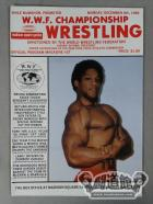 W.W.F. CHAMPIONSHIP WRESTLING OFFICIAL PROGRAM MAGAZINE No.37