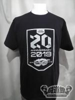 ドラゴンゲート「20th Anniversary/THE FINAL GATE 2019」Tシャツ