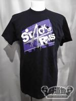 「STACK OF ARMS」ロゴ Tシャツ②