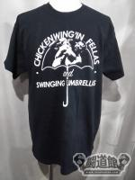 マーティー・スカル《CHICKEN WING'IN FELLAS and SWINGING UMBRELLAS》Tシャツ