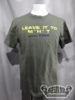 "田中稔「LEAVE IT TO M""H""T」 Tシャツ"