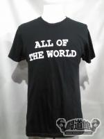 棚橋弘至「ALL OF THE WORLD」Tシャツ(黒)
