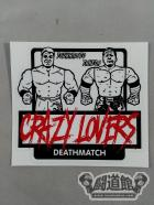 CRAZY LOVERS ステッカー