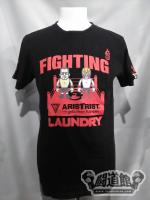 FIGHTING LAUNDRY×ARISTRIST コラボTシャツ(黒)