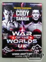 ROH WAR OF THE WORLDS LIVERPOOL SATURDAY,AUGUST 19,2017