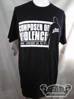 ウォルター「Walter Ring General Composer of Violence」Tシャツ
