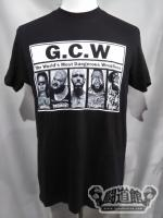 GCW「The World's Most Dangerous Wrestlers」Tシャツ