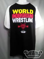 WORLD UNDERGROUND WRESTLING【Official】ラグランTシャツ