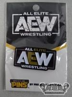 WRESTLING PINS AEW ピンバッジ(ロゴ)