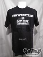 DEVILOCK×蝶野正洋「PRO WRESTLING IS MY LIFE」Tシャツ
